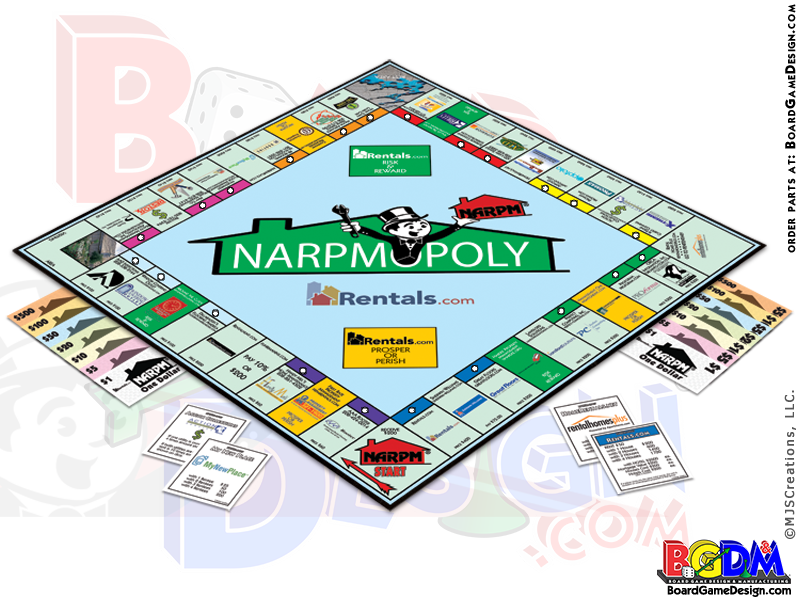 Custom Monopoly Personalized Monopoly Games