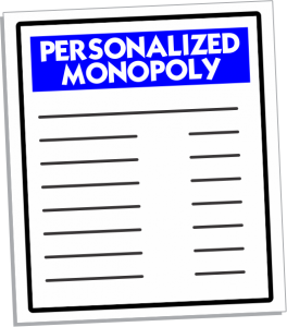 Personalized Monopoly Games