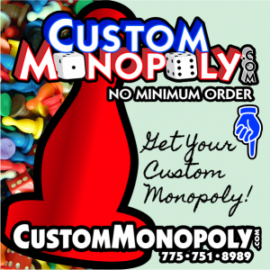 Custom Monopoly Fund Raiser, Make Your Own Monopoly Game Set - NO Minimum Order