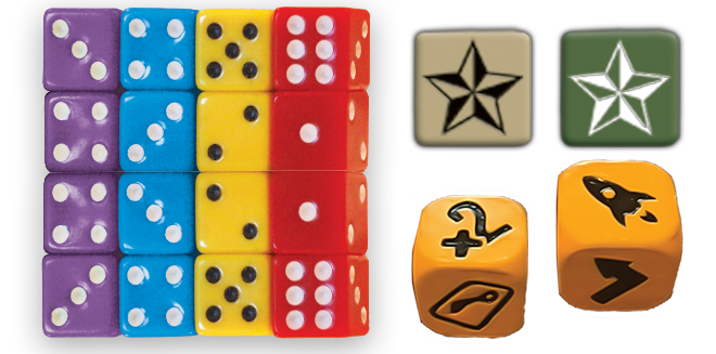 Custom Dice for Monopoly Games Manufacturer
