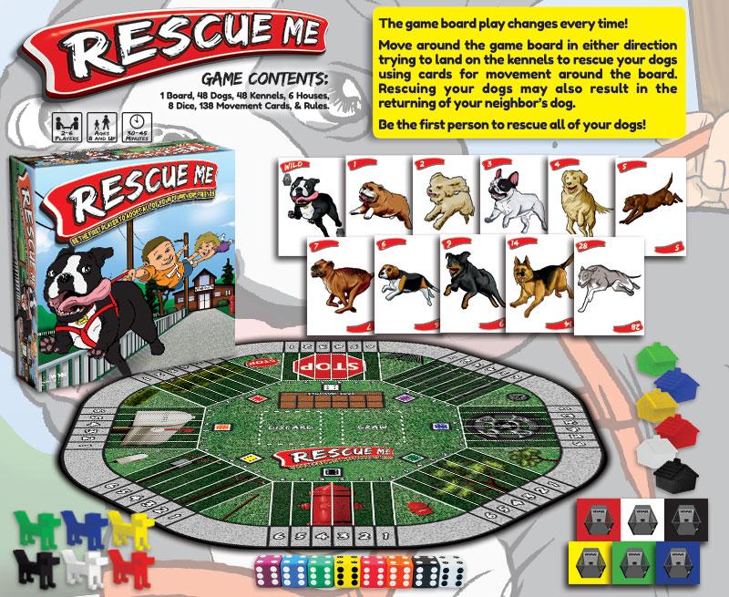 Custom Board Games Sample: Rescue Me