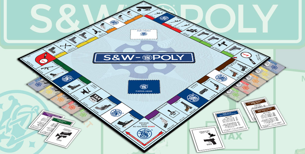 Custom Monopoly Game Manufacturer Publisher: Smith & Wesson Monopoly game