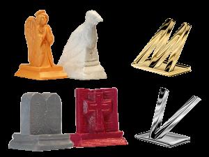 Custom Plastic Tooled Game Pieces, Custom Foil Plated Plastic Tooled Game Pieces