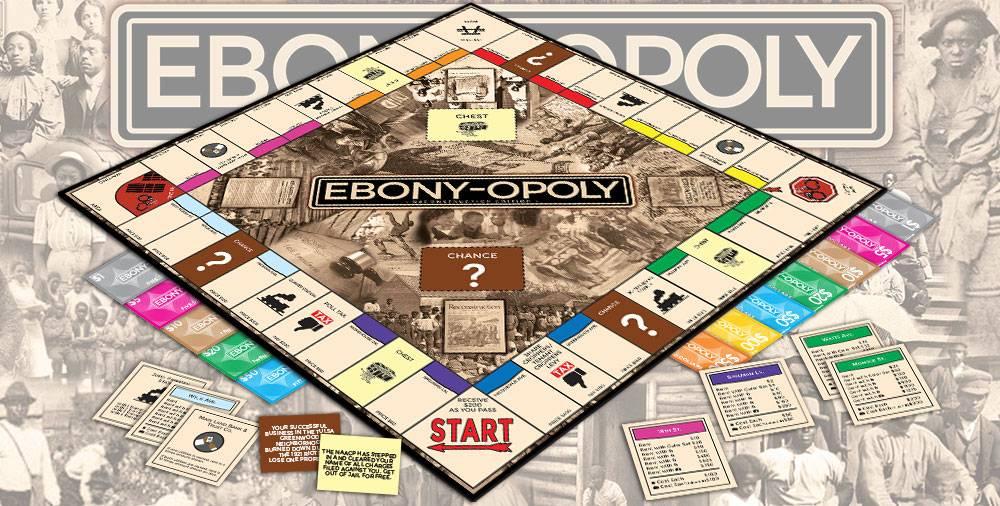 Custom Monopoly Game Manufacturer Publisher: Ebony-opoly / Blackopoly / Black-opoly Monopoly game